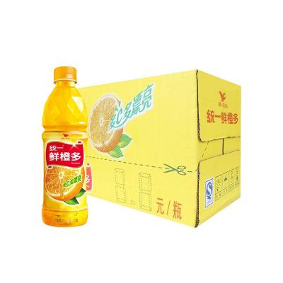 统一鲜橙多 450ml*15 多C多漂亮 鲜橙味饮料