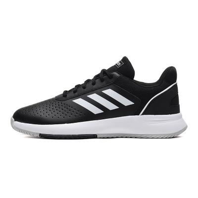 adidas男鞋网球鞋网球训练实战运动鞋F36717 F36717黑色/白色