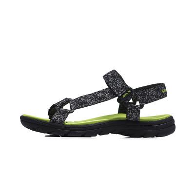 Skechers斯凱奇男大童涼鞋黑色耐磨透氣輕便運動鞋92218L