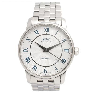 【二手95新】美度Mido貝倫賽麗系列M8600.4.21.1男表自動機械奢侈品鐘手表腕表