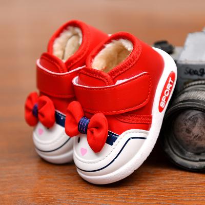 芳棋云品牌2019秋冬款童鞋女宝宝鞋子婴儿学步鞋儿童单鞋板鞋帆布鞋加绒棉鞋