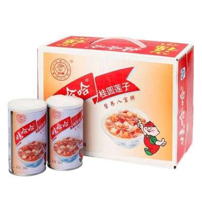 娃哈哈桂圓蓮子八寶粥360g*12罐/箱