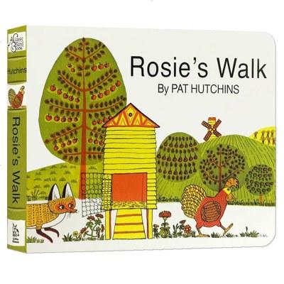英文原版繪本 Rosies Walk 母雞蘿絲去散步 Pat Hutchins 廖彩杏 吳敏蘭 入啟蒙早教認知英