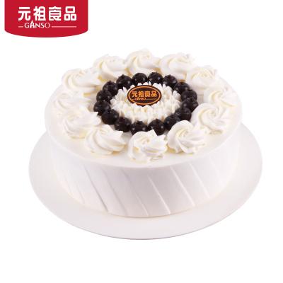 元祖6号迷情蓝莓风鲜奶蛋糕 全城配送