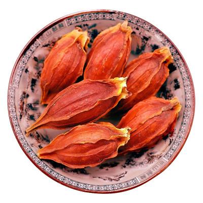 博多客 紅梔子500克 全紅枝子黃梔子黃枝子黃果花果茶梔子茶香料調料