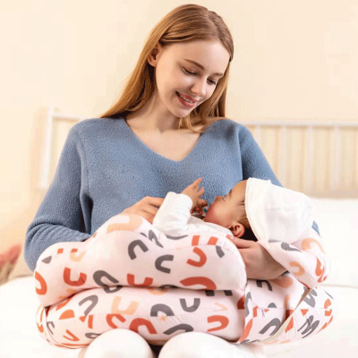 多米貝貝Tomi baby孕婦枕 嬰兒喂奶產后哺乳枕頭護腰側睡枕側臥枕孕托腹抱枕多功能u型枕孕婦護腰枕腰墊腰枕寶寶學坐枕