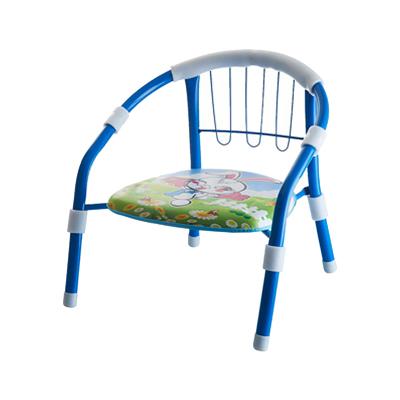 魔童儿童加厚靠背小椅子宝宝凳子卡通叫叫椅婴儿安全小板凳 蓝色