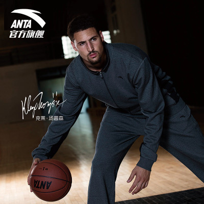 ANTA安踏运动套装2020春季男装运动装休闲针织运动服上衣休闲修身运动裤男套装