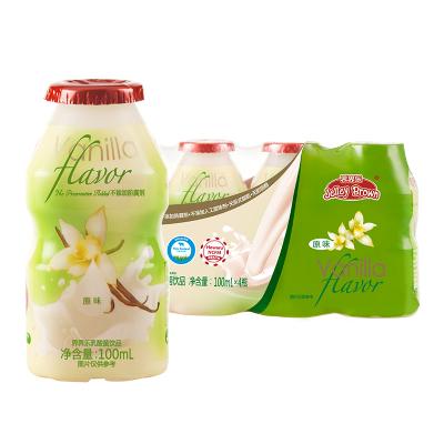 JelleyBrown 界界乐儿童乳酸菌饮料 原味100ml*4瓶