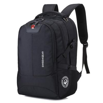 瑞士军刀15.6寸/17.3英寸大容量SWISSGEAR双肩包男士背包学生书包旅行包休闲数码电脑包
