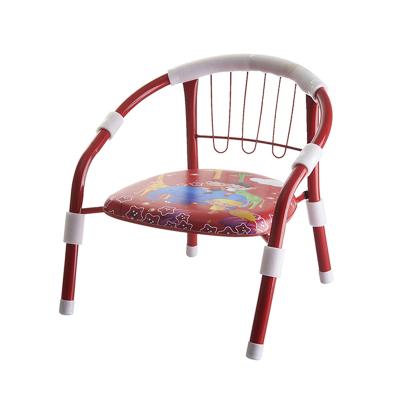 魔童儿童加厚靠背小椅子宝宝凳子卡通叫叫椅婴儿安全小板凳 红色