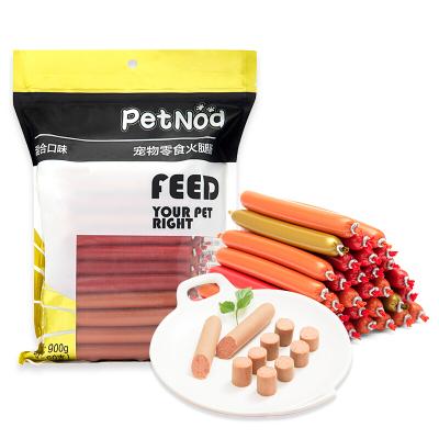 Petnod貓狗零食60支寵物火腿腸貓咪愛吃訓狗獎勵三種口味混發