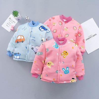 兒童棉襖棉服男女童保暖棉衣加厚外套對門棉衣寶寶保暖棉衣0到3歲