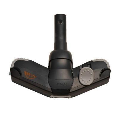 飛利浦PHILIPS吸塵器配件全方位地刷吸頭吸嘴FC8760  FC5833 黑色