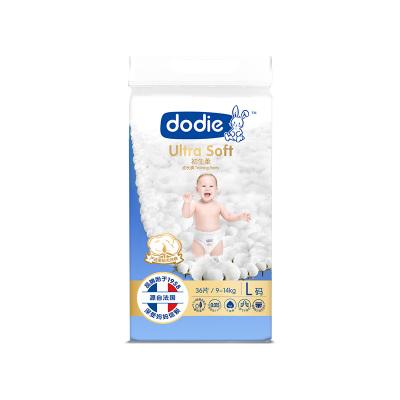 Dodie親薄柔護成長褲(初生柔)L碼36片*4包