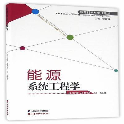 正版能源系统工程学 张志耀 赵慧娟著 雷仲敏编 山西经济出版社山