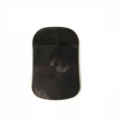 ZHUAX汽車防滑墊車用置物墊防曬耐高溫無痕車內中控儀表臺硅膠創意多功能裝飾PU雙面固定粘貼香水玩偶擺件貼青花瓷大黑圓