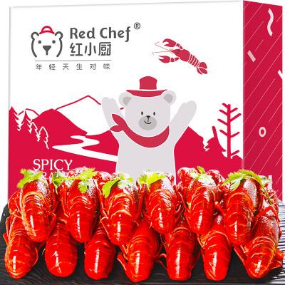 紅小廚麻辣小龍蝦中號4-6錢17-25只 凈蝦500/1盒