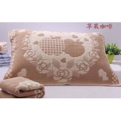 【枕巾一对装】加厚通用情侣学生四季可用成人家用简约小清新床上用品枕巾