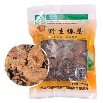 雪都东北特产野生榛蘑干货200g绿色农产品认证