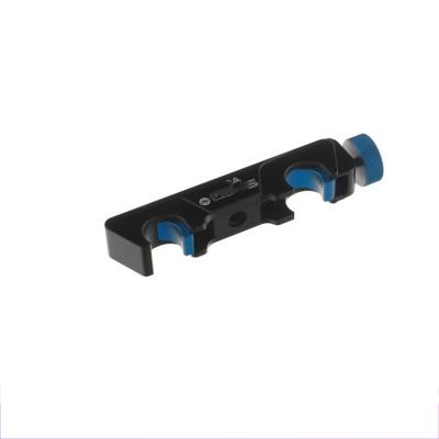 快速卡槽滑_块_跟焦器快装滑块_快速锁紧卡槽_可夹15mm圆管