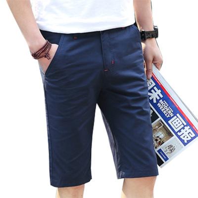 男士夏季薄款五分中裤沙滩短裤5分休闲运动裤