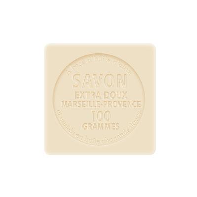 法国原装进口Chatelard夏特拉尔1802精油皂洁面沐浴皂非化工皂沐浴露 可可牛奶100g