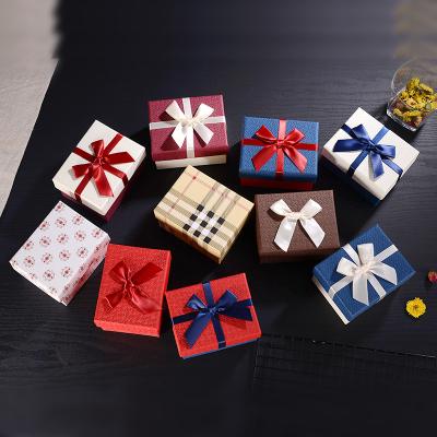 開心孕口紅包裝禮盒空盒子生日節日禮品盒小號精美禮盒婚慶喜糖盒子
