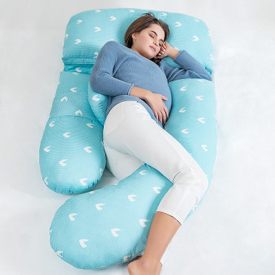 多米貝貝(Tomi baby)多功能孕婦枕頭u型棉護腰側睡枕睡覺側臥枕墊靠枕托腹