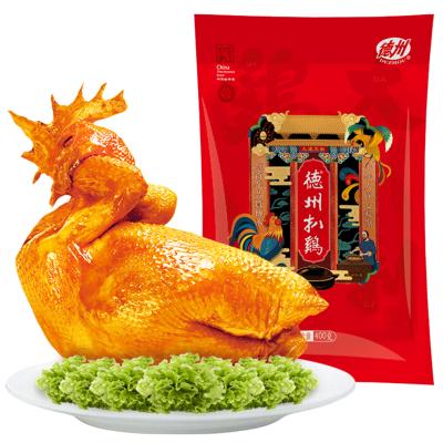 【第二件半價】正宗德州扒雞特產中式熟食禮品保鮮童子雞400g/袋