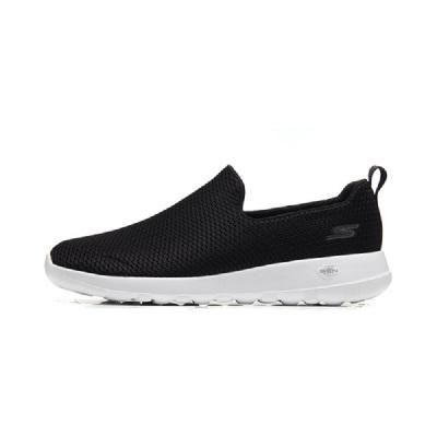 【自營】Skechers斯凱奇男鞋健步鞋一腳套懶人運動鞋54600 . 54600/BKW黑色+白色