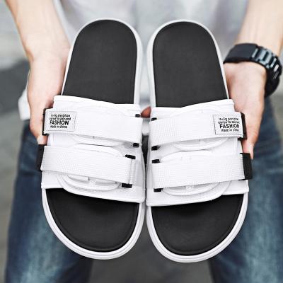 跨洋(KUAYANG)2020夏季新款拖鞋男士復古休閑鞋戶外防滑拖鞋ins潮流男鞋海邊沙灘人字拖T