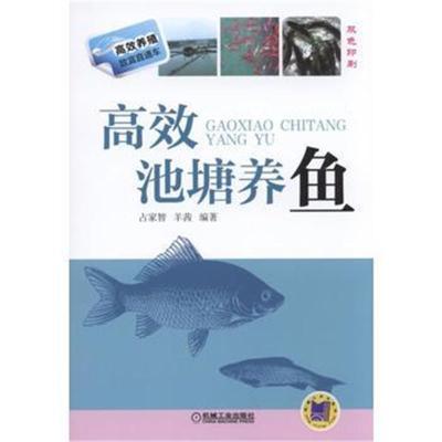 正版書籍 高效池塘養魚 9787111510529 機械工業出版社