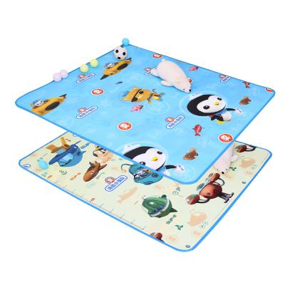 海底小纵队卡通宝宝爬行垫婴儿爬爬垫泡沫垫儿童地垫男孩女孩玩具客厅家用EPE舰艇款 150*180*0.5
