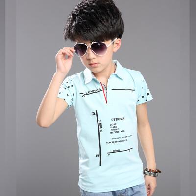 儿童装短袖夏季男童小男孩上衣服夏装打底衫中大童T恤潮