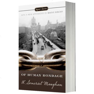 人性的枷鎖 英文原版書 Of Human Bondage 毛姆代表作 人生的枷鎖 英文版半自傳體小說 正版進口書