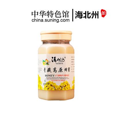【中华特色】海北州馆 浩门河HAOMENHE 青藏高原蜂蜜 500g*1瓶 罐装蜜 结晶蜜 西北
