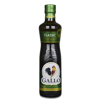 橄露GALLO 橄欖油 葡萄牙原瓶原裝進口精選特級初榨橄欖油750ml食用油
