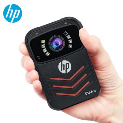 惠普(HP)DSJ-A5S執法記錄儀1800P高清紅外防爆夜視4000萬像素現場記錄儀 官方標配16G