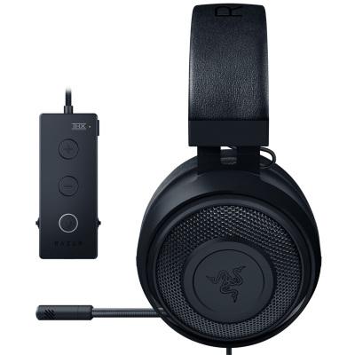 雷蛇(Razer) 北海巨妖竞技版头戴式游戏耳机 7.1声道游戏耳机 (带线控游戏耳麦 游戏耳麦 7.1声道耳机) 吃鸡