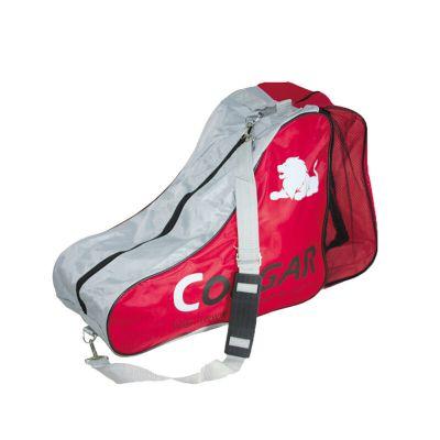 2019年COUGAR美洲狮轮滑鞋套装尼龙加大背包 溜冰鞋旱冰鞋冰袋 轮滑包