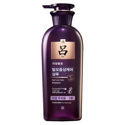 【油皮克星】Ryo呂 紫呂 滋養韌發密集強韌洗發水 400ml 油性發質