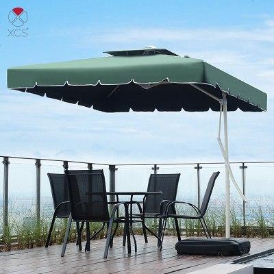 顧致戶外遮陽傘庭院傘室外沙灘傘香蕉傘崗亭雨傘擺攤傘保安大傘太陽傘