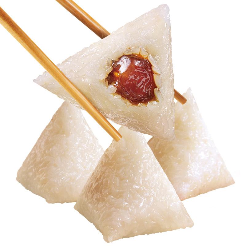 五芳斋粽子迪士尼*真空五芳香甜红枣粽 嘉兴特产50克*4