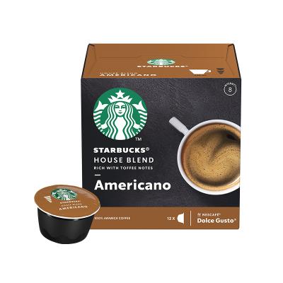 星巴克(Starbucks) 特选综合美式咖啡(大杯) 咖啡胶囊102g(内含12颗)