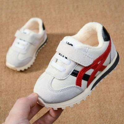 秋冬寶寶鞋女1-3歲男童軟底運動鞋女童加厚保暖棉鞋學步嬰兒童鞋2