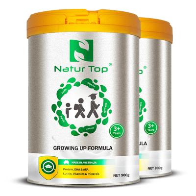 澳洲原裝進口Natur Top諾崔特 含DHA/葉黃素/鋅/鐵 無蔗糖兒童及青少年學生成長高鈣牛奶粉 900g 2罐裝