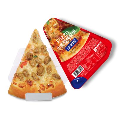 【滿299-160】大希地 燒烤牛肉厚芝士披薩100g*3盒 餡料豐富 面皮軟薄 芝士濃郁 微波爐加熱