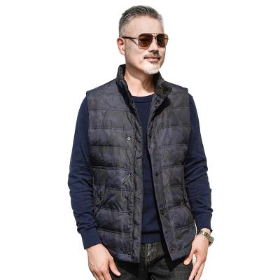 红豆相思鸟(xiangsiniao)秋冬经典百搭70%含容量时尚保暖休闲男士羽绒马甲