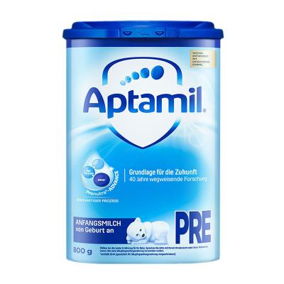 Aptamil 德國愛他美 本土版 嬰幼兒配方 奶粉 pre段 800g/罐 0-3個月 21年2月